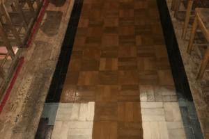 Test Coat Of The Granwood Floor Sealer