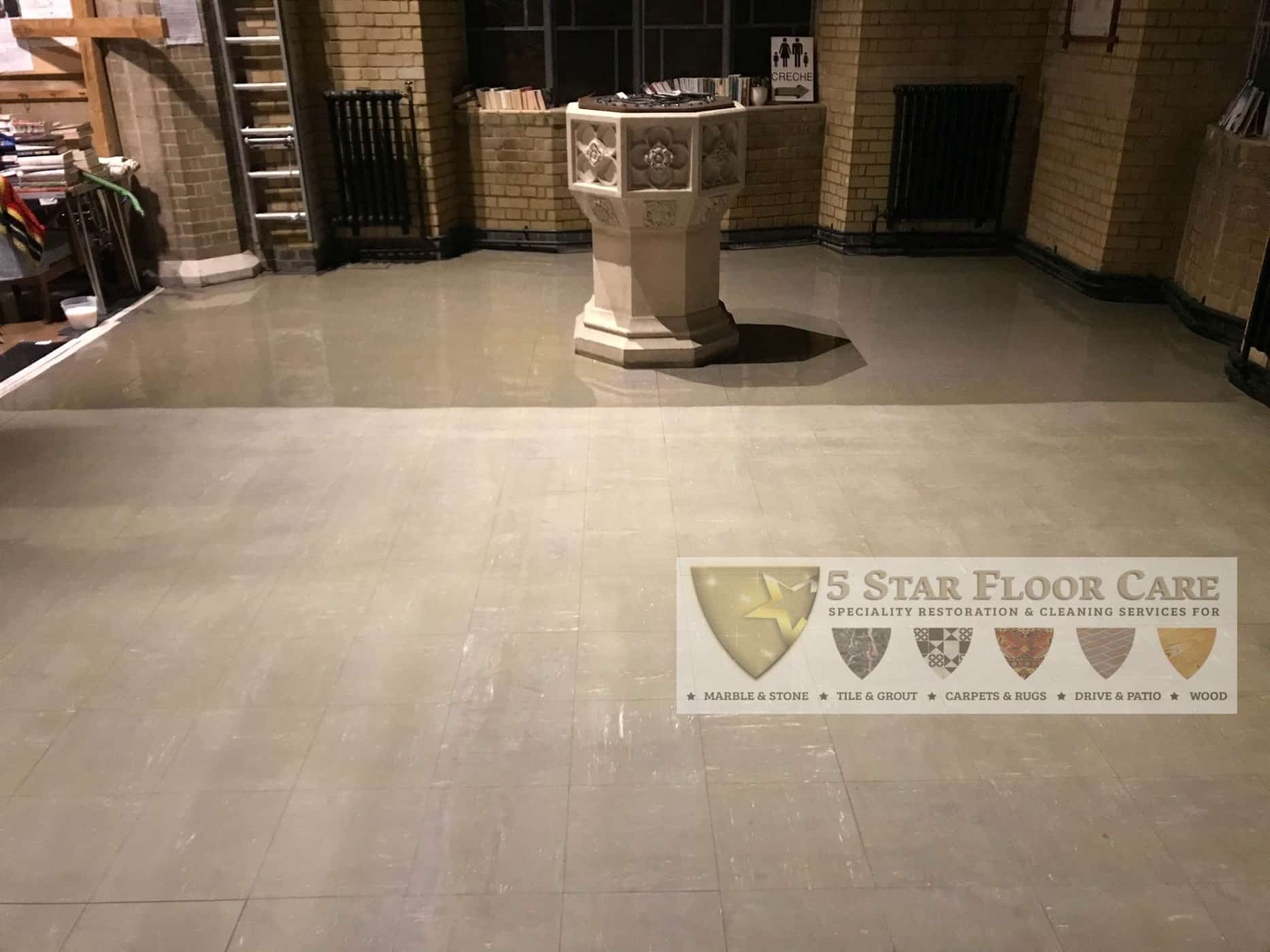 Commercial Hard Floor Cleaning & Polishing In Bromley