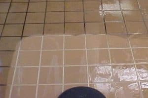 Before Tile and Grout Cleaning - Bromley