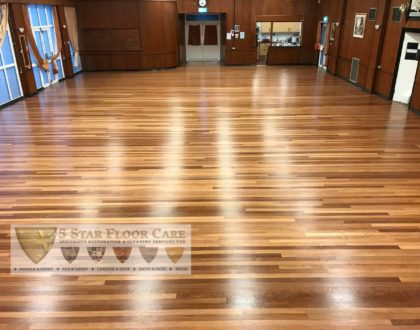 Wooden Floor Maintenance