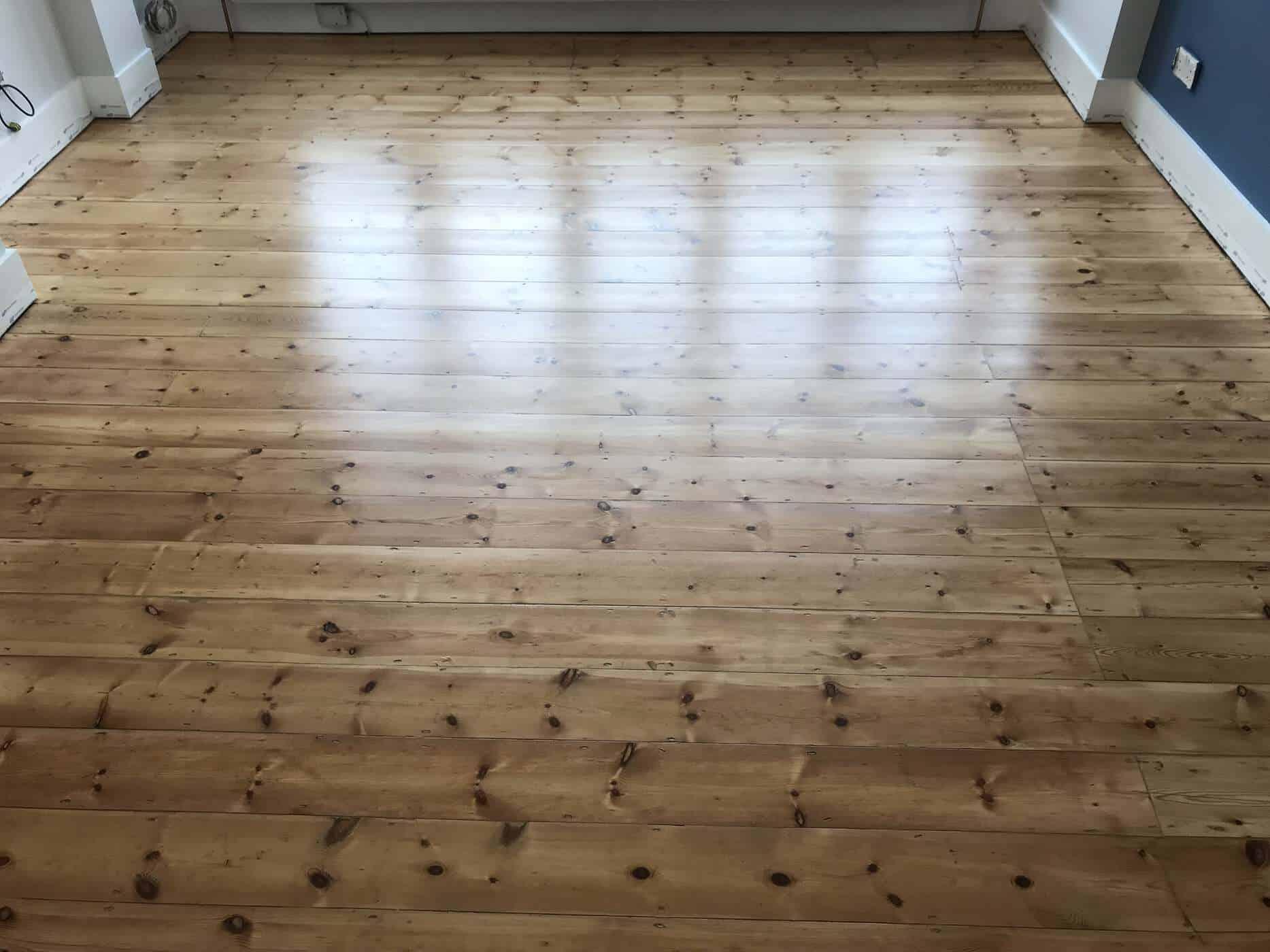 after floor sanding